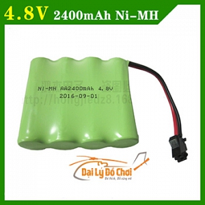 POT7B pin ô tô 4.8V 2400mah